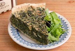 Tarta de Espinaca y Brie