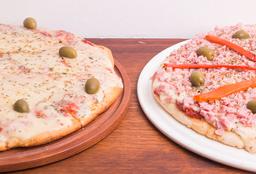 Combo Pizza 2: Especial +  Muzza