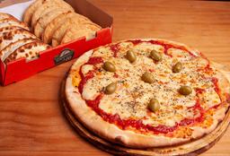 Combo 12 Empanadas & Pizza