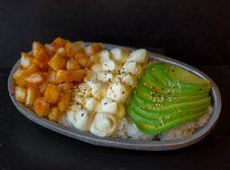 Sushi Salad Langostinos Empanizados