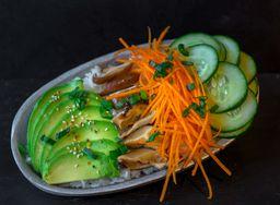 Sushi Salad Veggie
