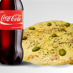 Combo Pizza Muzzarella & Bebida
