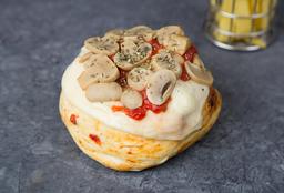 PizzaBurger de Champiñones
