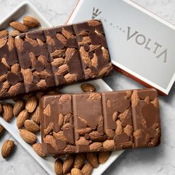 Tableta de Chocolate Almendras Semi Amargo