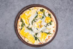 Pizza con Espinaca & Huevo