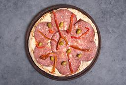 Pizza con Longaniza & Morrón