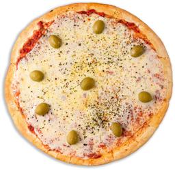 Pizza con Tomate, Ajo & Perejil
