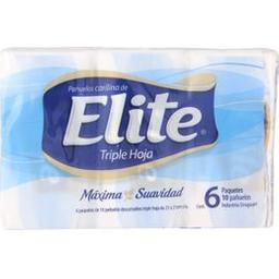Pañuelos Desechables Elite Pocket Extracto de Seda 6 U