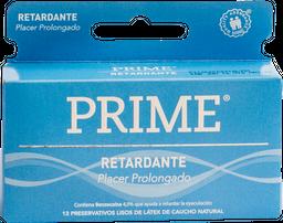 Preservativos Prime Retardante X12U