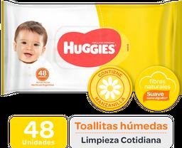 Huggies Toallas Humedas Limpieza Cotidiana 30X48