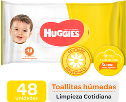 Toallas Húmedas Huggies Limpieza Cotidiana 30X48