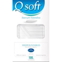 Hisopos de Algodón Q Soft 100 U