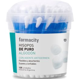 Hisopos Farmacity X 125U
