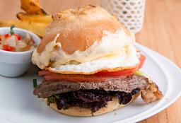 Sándwich de Carne + gaseosa