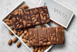 Tableta de Chocolate Semi Amargo y Almendras