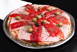 Pizza de Jamon & Morrón