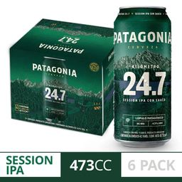 Six Pack Patagonia Session IPA 24,7 473 ml
