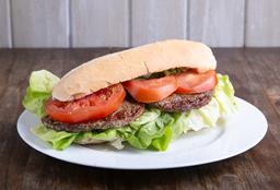 Sándwich de Hamburguesa + Bebida