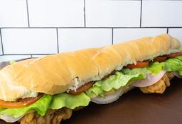Sándwich Mila Carne Monstruo Completo