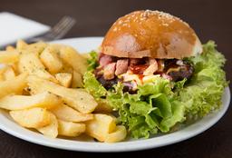 Hamburguesa al Bacon