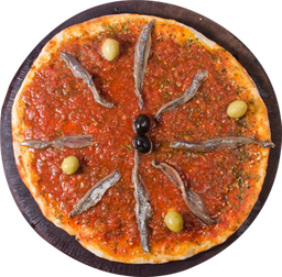 Pizza de Anchoas con Mozza