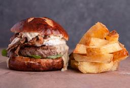 #5. Hamburguesa con Camembert & Hongos