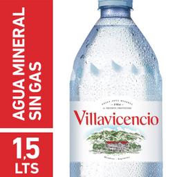 Agua Mineral Villavicencio Sin Gas 1.5 L