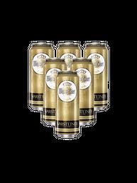 Six Pack Warsteiner Cerveza Latas 473Ml