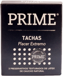 Preservativos Prime Tachas  X 3U