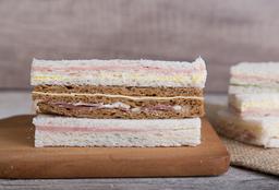 Sándwiches Triples J&Q X 48