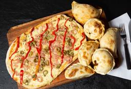 Combo Pizza Grande & 4 Empanadas