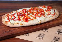 Pizza con Morrones