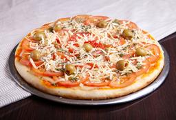 Pizza Napolitana con Jamón o Morrón