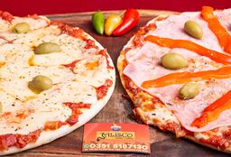 Pizza Especial + Pizza de Muzza