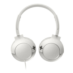 Auriculares on-ear Philips BASS+ - Blanco