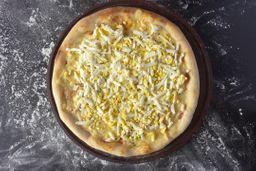 Pizza Mozzarella con Huevo