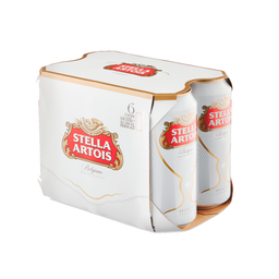 Sixpack Cerveza Stella Artois Lata 473 Ml