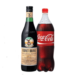 Combo Branca 750 Ml + Coca 1.5 L