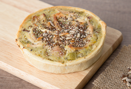Tarta de Pollo, Puerro & Verde