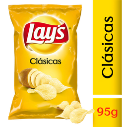 Lays Papas Fritas Clasicas 95 Gr