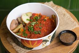 Lasagna Vegana con salsa de Tamarindo
