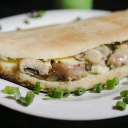 Sándwich de Pollo Al Champigñón