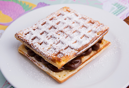 Waffle de Dulce de Leche