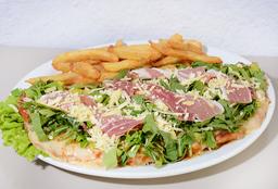 Pizzanesa con Rúcula