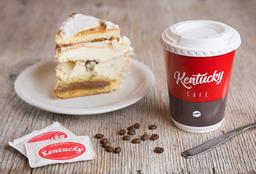 Porción de Torta + Café con Leche