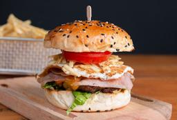 Hamburguesa La Venezolana Carne