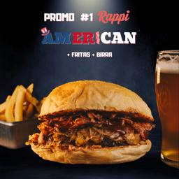 Promo Rappi #1 (american, Papas y Cerveza)