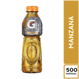 Isotónicas Gatorade Manzana 500Ml