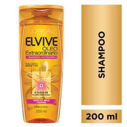 Shampoo Óleo Extraordinario Nutrición Elvive L´Oréal X200Ml
