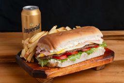 Combo Sándwich & Cerveza